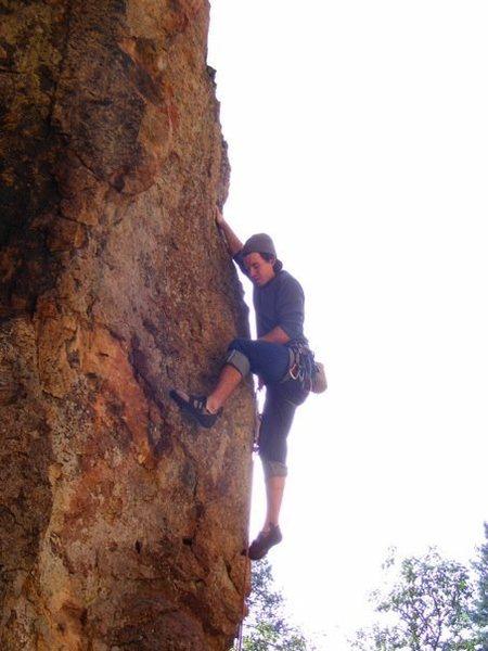 Rock Climbing Photo: Arabesque at Rattlesnake