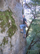 Rock Climbing Photo: Janivore. One of the few easy climbs at Rattlesnak...