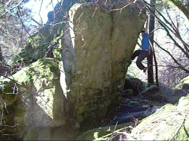 Rock Climbing Photo: Lost Boulder