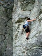 Rock Climbing Photo: Zoo View, Moores Wall, NC.