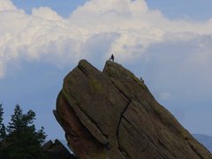 Rock Climbing Photo: Alan C took this very nice picture of the South Fa...