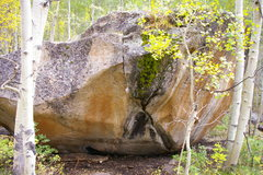 Rock Climbing Photo: Battleship Boulder