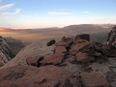 Rock Climbing Photo: The scenic north shoulder of Mescalito.