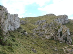 Rock Climbing Photo: Sectors 1 and 2 as seen from the trail. Sector 1 i...