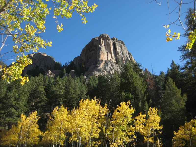 Rock Climbing Photo: Aspen glory.