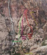 Rock Climbing Photo: Overview photo of the eastern part of the Strawber...