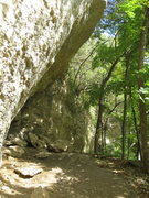 Rock Climbing Photo: Good side view going the other way (from liberal t...