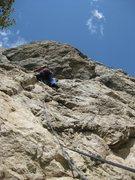 Rock Climbing Photo: Katey on Ignorway 10b