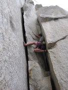 Rock Climbing Photo: La Costia Left 5.7 base of El Cap