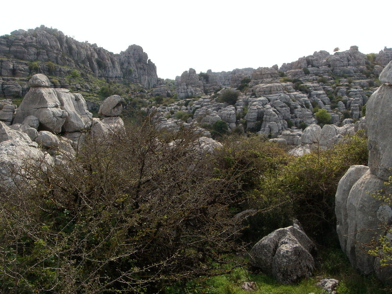 Rock Climbing Photo: Torcal de Antequera.