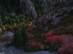 Rock Climbing Photo: Great colors in the twilight!