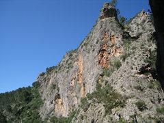 Rock Climbing Photo: Looking southwest at Paret dels Coloms.