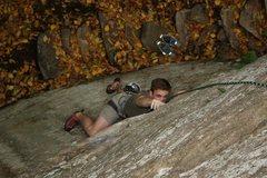 Rock Climbing Photo: AK climbing on a fun 5.10.