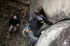 Rock Climbing Photo: MH.