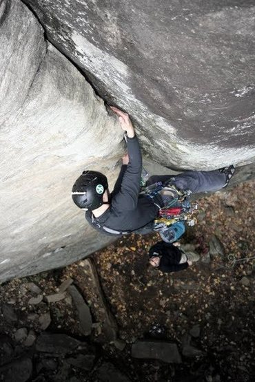 Rock Climbing Photo: MH.