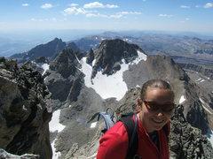 Rock Climbing Photo: middle teton summit