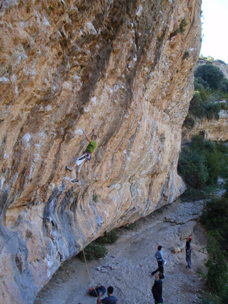 Rock Climbing Photo: The taller right side of El Camino with a climber ...