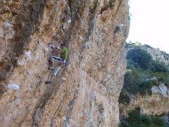 Rock Climbing Photo: Steve McClure warming up on Toma Castanazo.