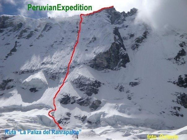 ranrapalca route new Peru.