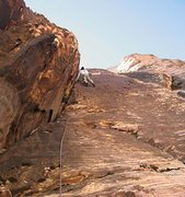 Rock Climbing Photo: The upper corner looks deceptively easy, but it ma...