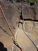 Rock Climbing Photo: setup no 1 at north end of ONP