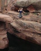 Rock Climbing Photo: Ahhh! Fun by Camp Verde.