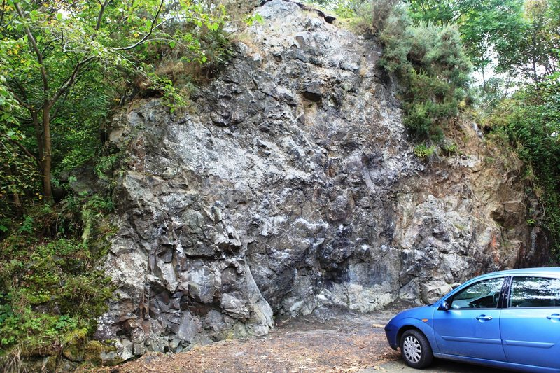 Entrance Rock, Kinnoull Hill Quarry