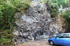 Rock Climbing Photo: Entrance Rock, Kinnoull Hill Quarry
