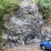 Entrance Rock, Kinnoull Hill Quarry
