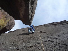 Rock Climbing Photo: Tron-sight, Mark Roth.