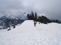 Rock Climbing Photo: Matt on the trail
