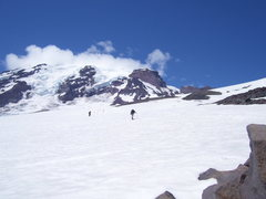 Rock Climbing Photo: More snowfield