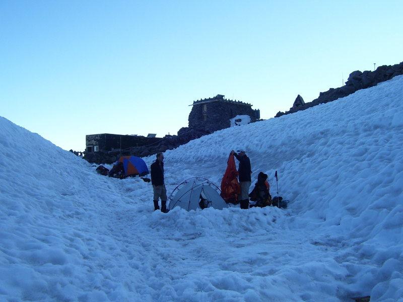 Rock Climbing Photo: More camp
