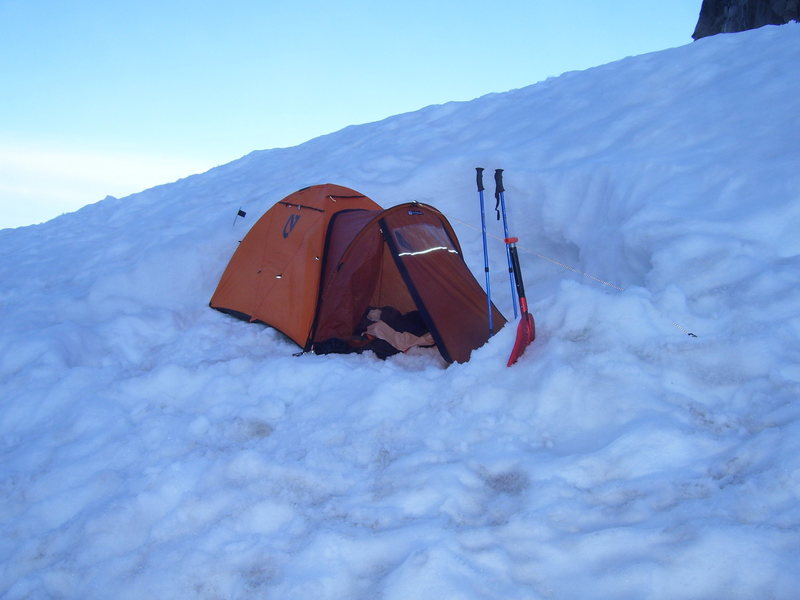 Rock Climbing Photo: Our tent