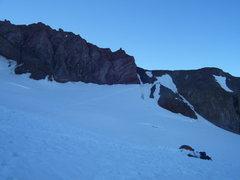 Rock Climbing Photo: Where we are headed