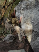 Rock Climbing Photo: Baldy V4, 5 Mile LCC