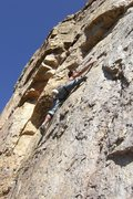 Rock Climbing Photo: Dan on Blackmans Burden