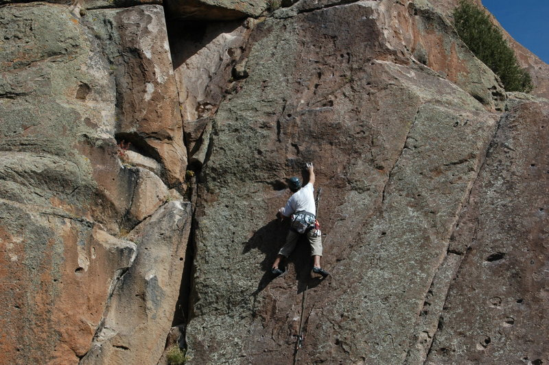 Rock Climbing Photo: The Pocket