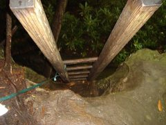 Rock Climbing Photo: The ladder