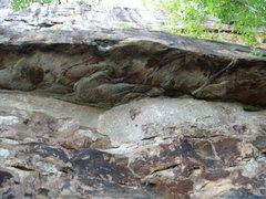 Rock Climbing Photo: Nice little overhangs