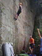 Rock Climbing Photo: Hang Dawgin !