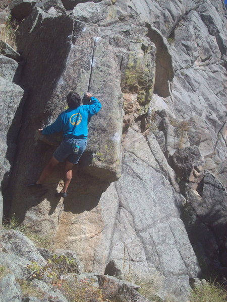 Point Block, Boulder Canyon