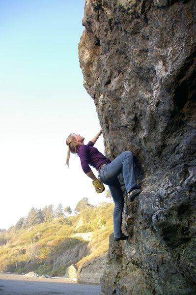 Rock Climbing Photo: V fun