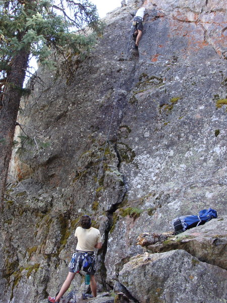 Rock Climbing Photo: This is it the Cataract Crack!