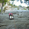 1st trad lead - Northern Pillar at the Gunks