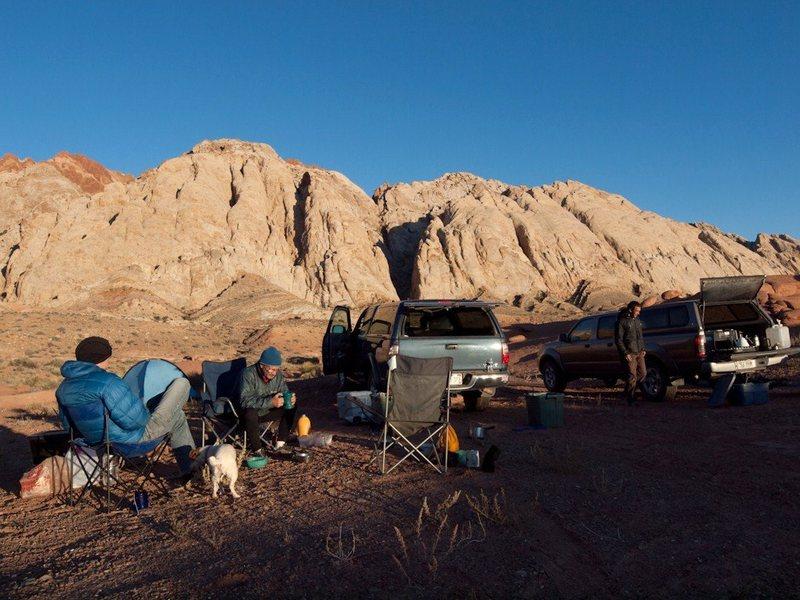 Rock Climbing Photo: Camp site... photo Chris Bonington