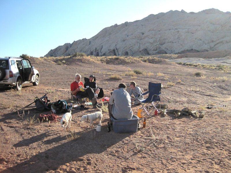 Rock Climbing Photo: More Campsite