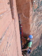 Rock Climbing Photo: Hooking.