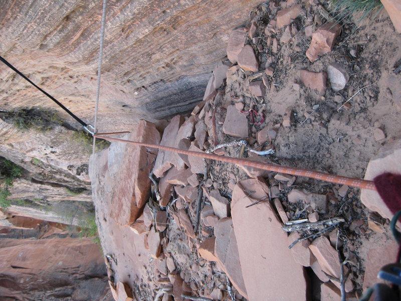 Rock Climbing Photo: Watch where you step!