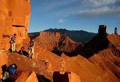 Rock Climbing Photo: at the base of Jah Man